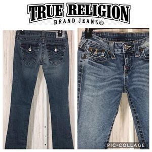 True Religion Becky Bootcut Jeans Size 26